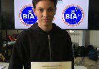 Mikael, récompensé par le BIA